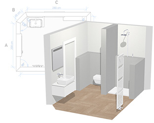 Disegno Bagno Per Bambini : Progettazione bagni create online il vostro bagno dei sogni