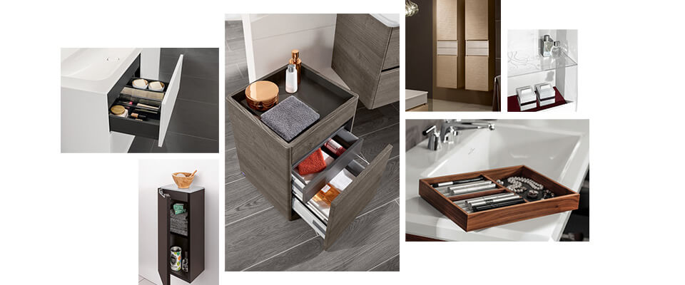 Kleines Bad mit Dusche - Raumlösungen - Villeroy & Boch