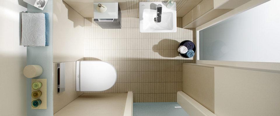 Kleines G?stebad Mit Dusche : Guest Bathroom