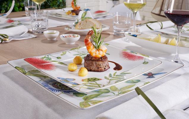 amazonia anmut exotisches tafelservice villeroy boch. Black Bedroom Furniture Sets. Home Design Ideas