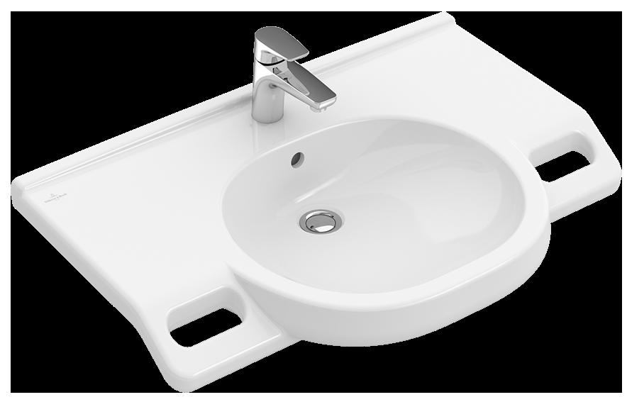 vita waschtisch vita oval 412080 villeroy boch. Black Bedroom Furniture Sets. Home Design Ideas