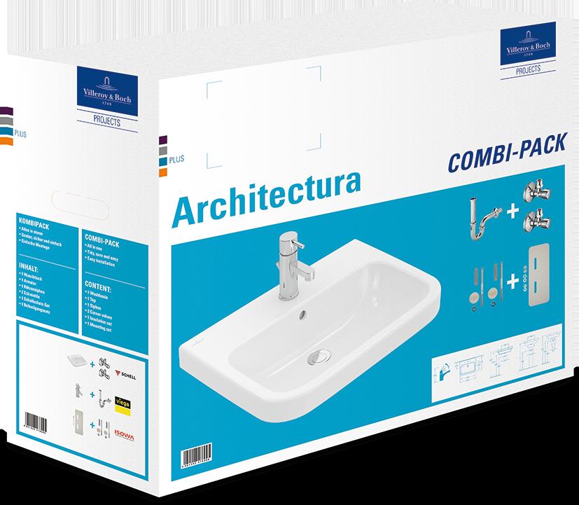 architectura combi pack 4188s1 villeroy boch. Black Bedroom Furniture Sets. Home Design Ideas