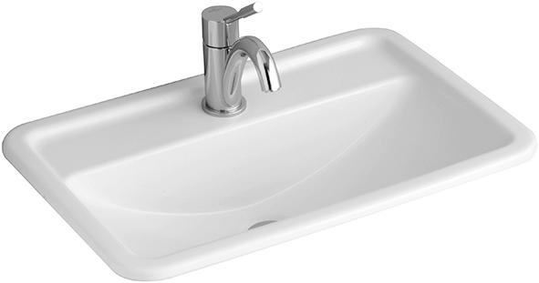 lavabo da incasso rettangolare quadrato