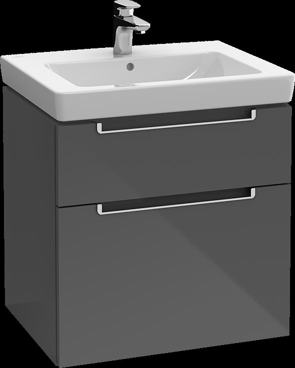 subway 2 0 waschtischunterschrank a90800 villeroy boch. Black Bedroom Furniture Sets. Home Design Ideas