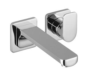 cult waschtisch wand einhandbatterie mit einzelrosetten 190613578 villeroy boch. Black Bedroom Furniture Sets. Home Design Ideas